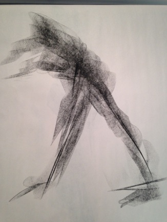 Compressed graphite gesture