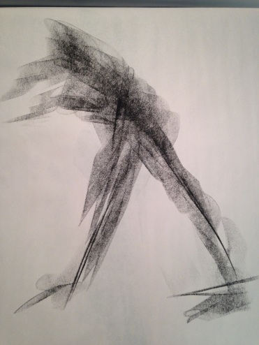 Compressed graphite gesture