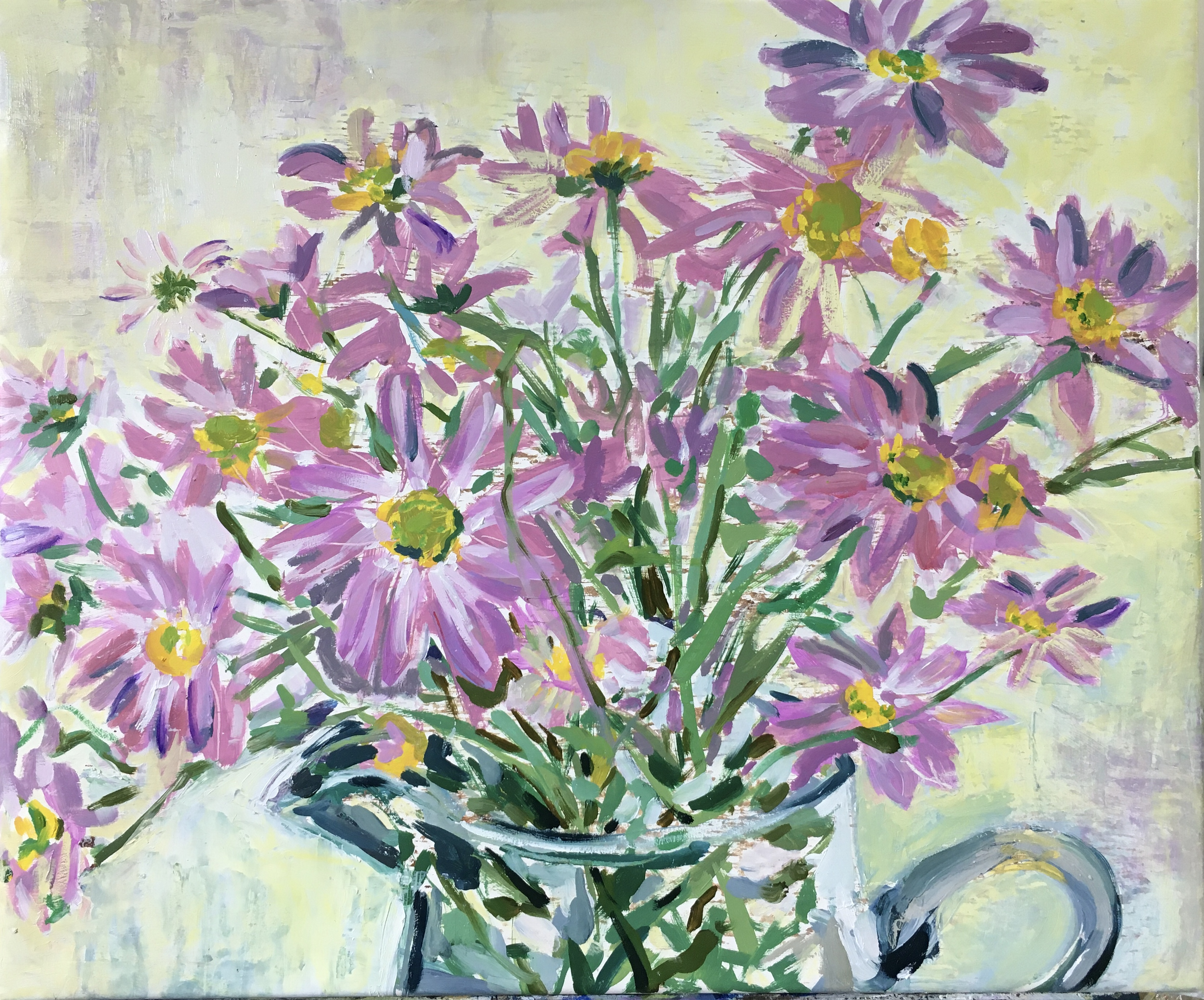 Bouquet of Lilac Mums